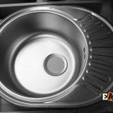 Мойки из нержавеющей стали под столешницу: Мойка ЕМ-5745 фото 2