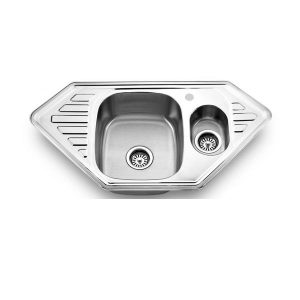 Врезные мойки: Кухонная мойка ЕМ-9550С