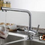 Смесители из нержавейки: Смеситель для кухни с высоким изливом ЕС-3003 фото 7