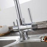 Смесители из нержавейки: Смеситель для кухни с высоким изливом ЕС-3003 фото 10