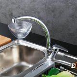 Смесители из нержавейки: Смеситель для кухни хромированный ЕС-3013 фото 4