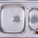 Врезные мойки: Мойка с двумя чашами ЕМ-5948 фото 1