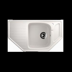 Гранитные мойки: Кухонная мойка U-109