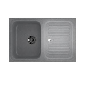 Гранитные мойки: Кухонная мойка U-502
