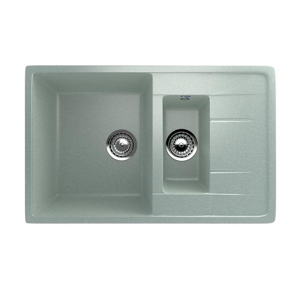 Гранитные мойки: Кухонная мойка U-205